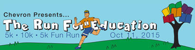 Register Now for the Run for Education on Sunday, October 11th