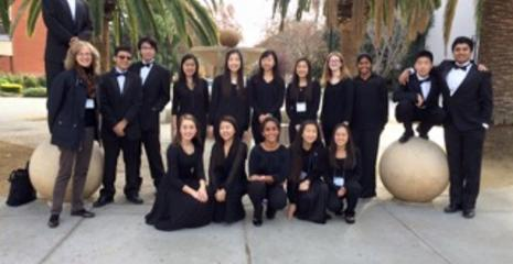 DVHS Students at CODA Honor Orchestra at San Jose