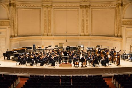 DVHS Orchestra at Carnegie Hall